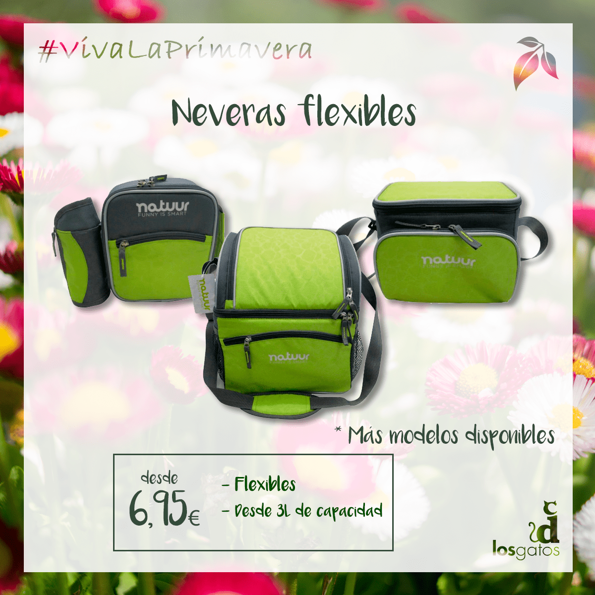 Neveras de tela flexibles