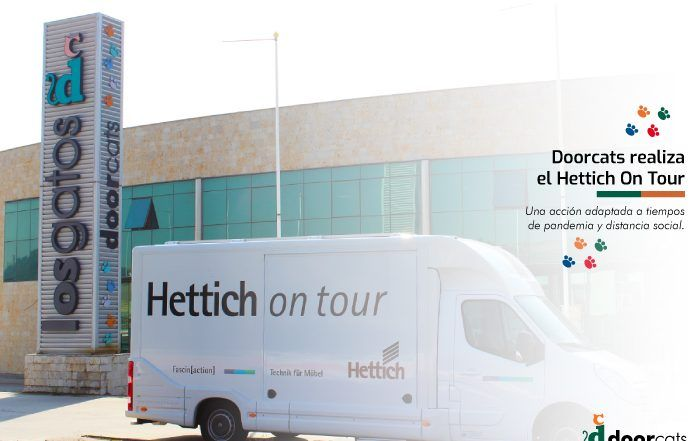Doorcats realiza el Hettich on Tour
